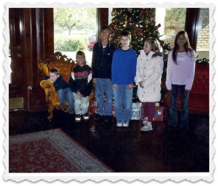 Six Grandchildren - 2006at The Spaghetti Factory