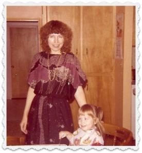 Rain & Heather - Christmas 1978