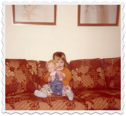 Heather & doll- 1979
