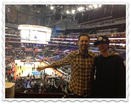 Brett & Aaron Enjoying a Game
