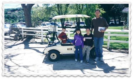 Brett, Alec, Aubrey, & Aaron - 4/2003