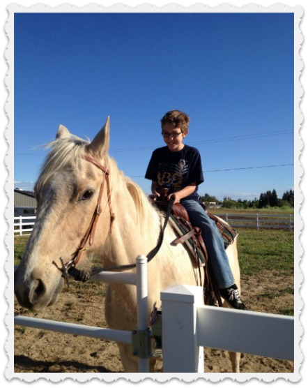 Noah's Special Easter ride