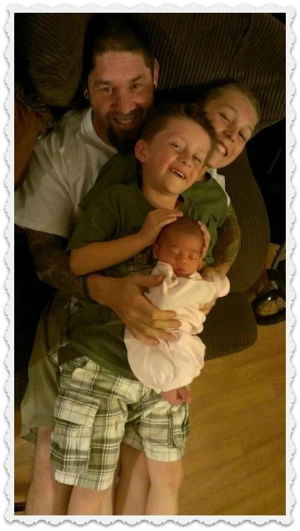 Danny, Noah, Braden, & Dayva