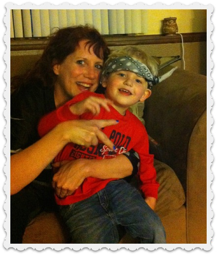 Maddix & his Grandma Sara