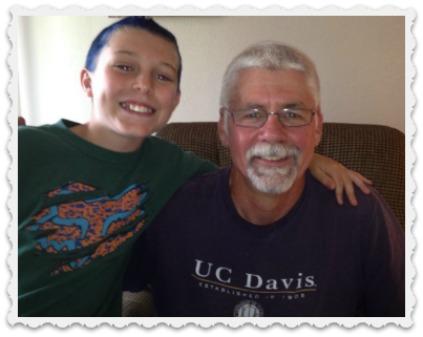 Noah & Great-Uncle David