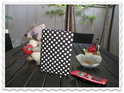 Sparky and Friends:  Patio Reading