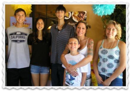 Alec, Aubrey, Aaron, Heather, Noah, & Fiona