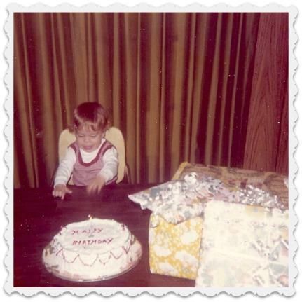 Christopher's First Birthday