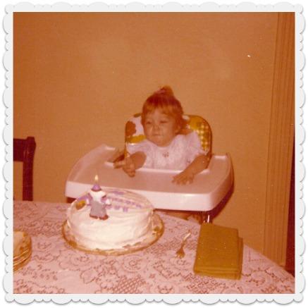 Heather - first birthday