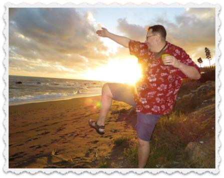 Taking a leap of faith?  Craig, newlywed, in Fuengirola, Spain