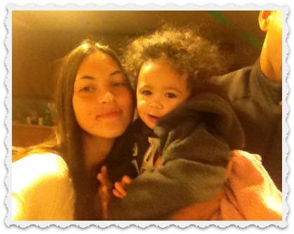 Aubrey & little bro Silas