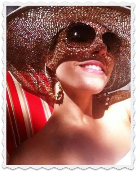 My niece Amy - fun in the sun