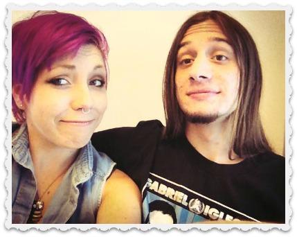 Fiona & Tomas...Fiona's new hair