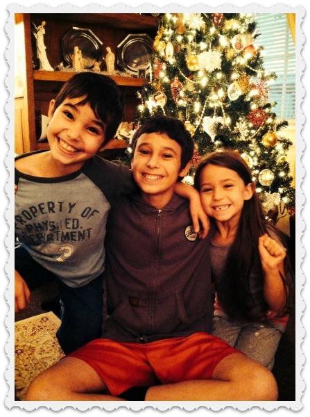 Christmas - Amy's kids