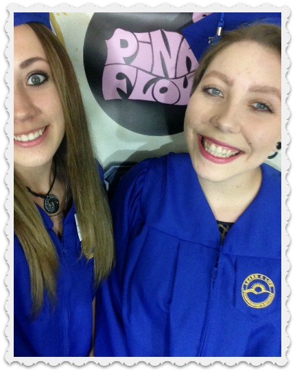 Graduates -Fiona & cousin Dani
