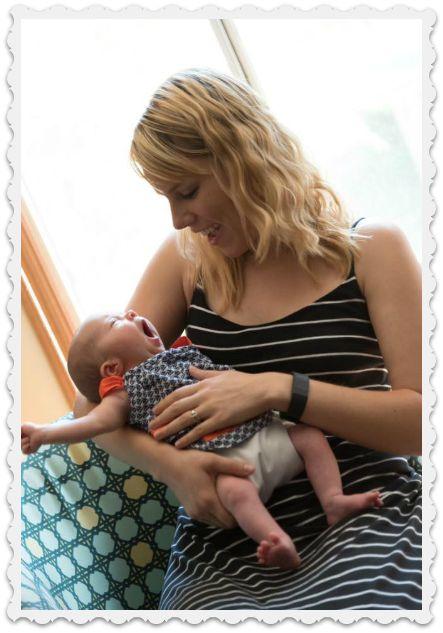 Emily's sister & baby - Dorothy