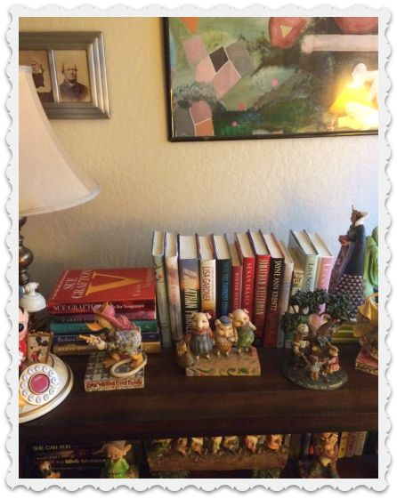 office bookcase - post purge