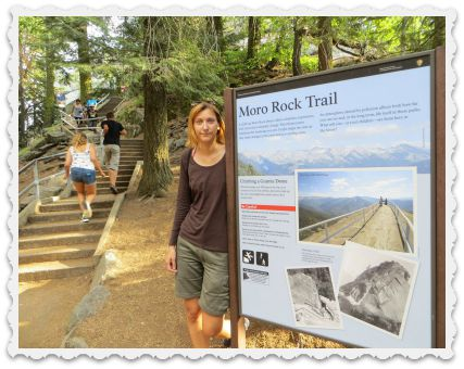 Gabi - Moro Rock Trail