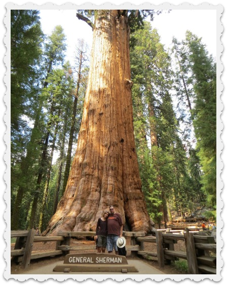 Craig & Gabi with General Sherman