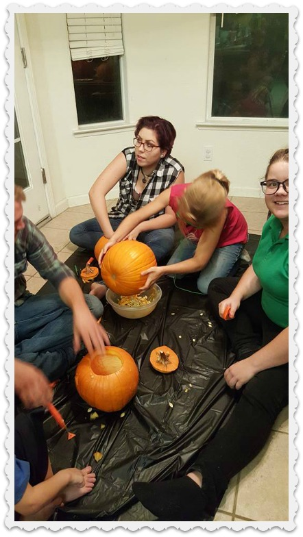 Fiona and Friends - Pumpkin Carving