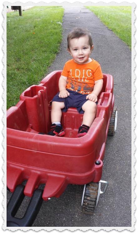 Step-great grandson Luke