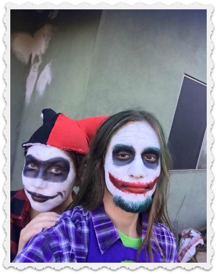 Fiona and Tomas on Halloween