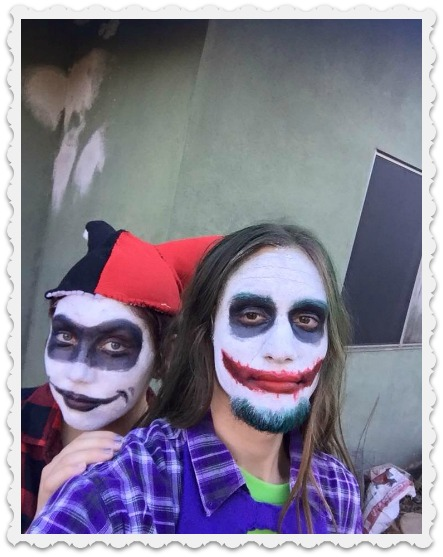 Fiona and Tomas on Halloween