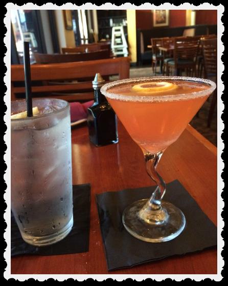 Blushing Geisha drink